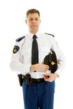 Dutch police officer Royalty Free Stock Image
