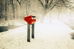 Dutch  post box Stock Images