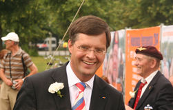 Dutch Prime Minister Balkenende Stock Photography