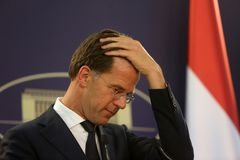 Dutch Prime Minister Mark Rutte Stock Photography