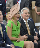 Dutch queen Maxima Royalty Free Stock Photography