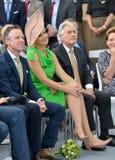 Dutch queen Maxima Stock Images