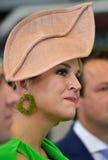 Dutch queen Maxima Stock Photo