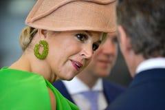 Dutch queen Maxima Royalty Free Stock Photos