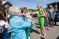 Dutch queen Maxima Royalty Free Stock Image