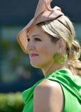 Dutch queen Maxima Stock Photos
