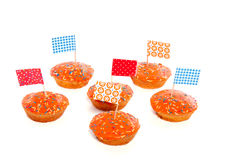 Dutch Queensday cake Stock Image