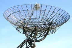 A dutch radio telescope in Westerbork Stock Photography
