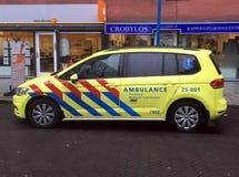 Dutch rapid responder Ambulance. Royalty Free Stock Photos