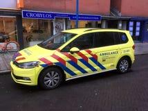 Dutch rapid responder Ambulance. Stock Images