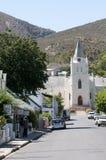 Dutch Reform Church Montagu South Africa Stock Photo