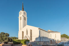 Dutch Reformed Church in Bellville. BELLVILLE, SOUTH AFRICA - MARCH 30, 2017: The Dutch Reformed Church in Bellville, a city in the Cape Town metropolitan area Stock Photo