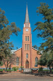 Dutch Reformed Church in Boshof Stock Images