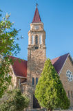 Dutch Reformed Church building in Reddersburg Stock Images