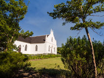Dutch Reformed Church in Franschhoek Stock Photos