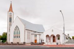 Dutch Reformed Church and hall in Caledon Stock Images
