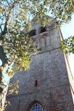 Dutch Reformed church Hollum Ameland, Holland Stock Images