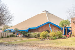 The Dutch Reformed Church in Langenhovenpark. Dutch Reformed Church in Langenhovenpark, Bloemfontein, South Africa Stock Photography