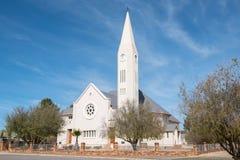 Dutch Reformed Church in Loeriesfontein Stock Photo