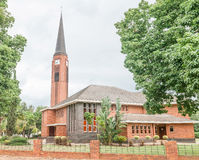 Dutch Reformed Church Sondagsrivier in Kirkwood. The Dutch Reformed Church Sondagsrivier in Kirkwood, a small town on the banks of the Sundays River in the Royalty Free Stock Photos