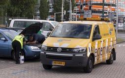 Dutch roadside breakdown assistance service Stock Photos