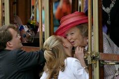 Dutch royal family stock photography