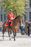 Dutch Royal Guards on horse royalty free stock photo