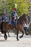 Dutch Royal Guards on horse Stock Image