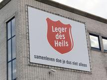 Dutch Salvation Army is an evangelical denomination Stock Photo