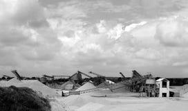 Dutch sandpit Stock Images