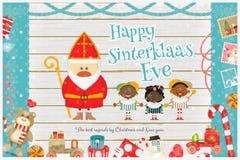 Dutch Santa Claus Stock Images