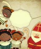 Dutch Santa Claus - Sinterklaas Stock Photo