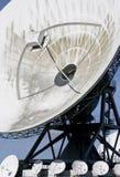 Dutch satellite communications in Burum Royalty Free Stock Photos