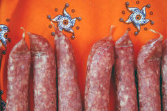 Dutch sausage Royalty Free Stock Photo