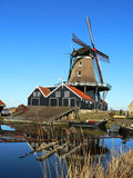 Dutch sawmill Royalty Free Stock Image