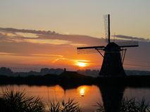 Dutch scenery Stock Image