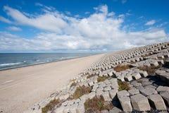 Dutch sea dike Stock Image