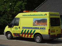 Dutch Seal Ambulance Stock Photography
