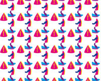 Dutch Sinterklaas background Stock Image