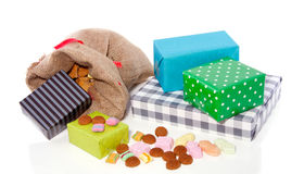 Dutch Sinterklaas gifts Stock Image