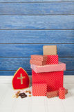 Dutch Sinterklaas gifts Stock Photography