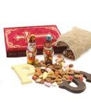 Dutch Sinterklaas sweets stock photography