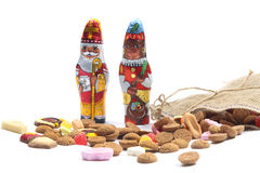 Dutch 'Sinterklaas' sweets Royalty Free Stock Image