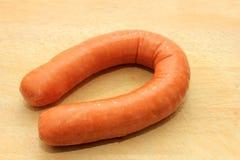 Dutch smoked sausage Stock Images