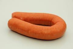 Dutch smoked sausage Stock Image