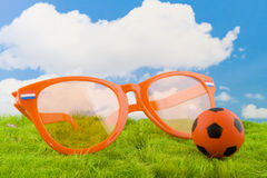 Dutch soccer Royalty Free Stock Images