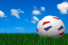 Dutch soccer ball Stock Images