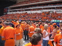Dutch Soccer Fans Royalty Free Stock Image