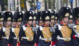 Dutch Soldiers Royalty Free Stock Photos