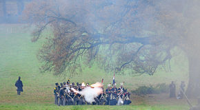Dutch soldiers 1813 Royalty Free Stock Images